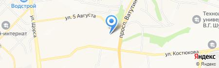 Сельхоз Снабженец на карте Белгорода