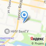БелГалоПрофф на карте Белгорода