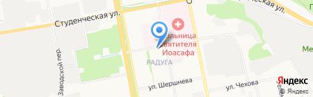 Приветливый на карте Белгорода