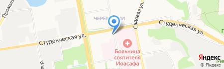 Швейная мастерская по ремонту одежды на карте Белгорода