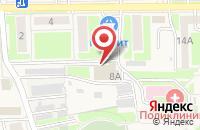 Схема проезда до компании Газпром газораспределение Белгород в Дубовом