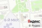 Схема проезда до компании Виолафарм в Белгороде