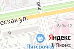 Схема проезда до компании In Формат в Белгороде