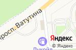 Схема проезда до компании АВТОЛАЙН в Дубовом