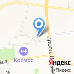 Белгородский областной радиотелевизионный передающий центр на карте Белгорода
