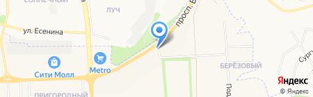 Автолайн плюс на карте Белгорода