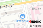 Схема проезда до компании ArtФОТО в Белгороде