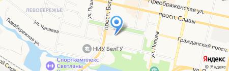 Инфогарантсервис на карте Белгорода
