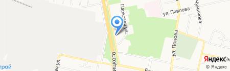 Росздравнадзор на карте Белгорода