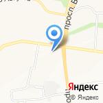 Южная ярмарка на карте Белгорода