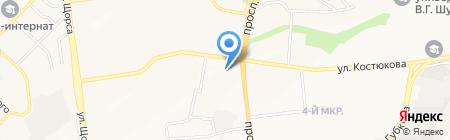 ЖарДива на карте Белгорода