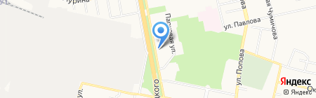 Белгородский экспресс на карте Белгорода