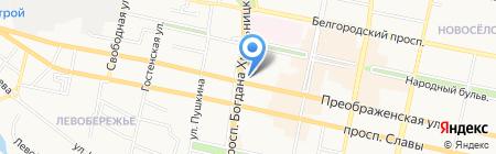 МТС на карте Белгорода