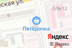 Схема проезда до компании Корона в Белгороде