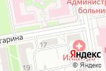 Схема проезда до компании 9 месяцев в Белгороде