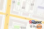 Схема проезда до компании Топаз в Белгороде