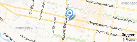 ИнтерКонтактСервис на карте Белгорода