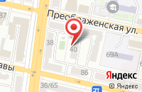 Схема проезда до компании ИнтерКонтактСервис в Белгороде