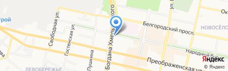 Карат на карте Белгорода
