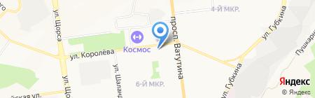 Электрик на карте Белгорода