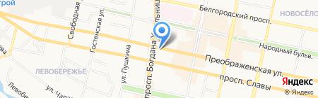 bloom на карте Белгорода