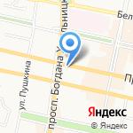 Ксенон на карте Белгорода