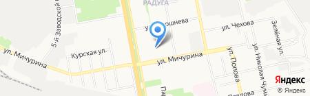 Новый Взгляд на карте Белгорода