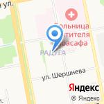 Гемотест на карте Белгорода