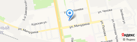КОБРА на карте Белгорода