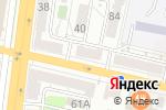 Схема проезда до компании ПушкинЪ в Белгороде