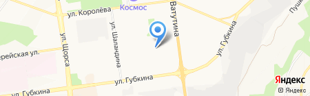 РЭУ №9 на карте Белгорода