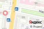 Схема проезда до компании Веста в Белгороде