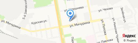 Мираторг на карте Белгорода