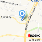 Представитель на карте Белгорода