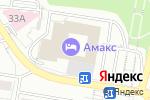 Схема проезда до компании Амакs в Белгороде