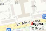 Схема проезда до компании ИНСАЙТ в Белгороде