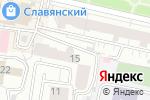 Схема проезда до компании Три С в Белгороде