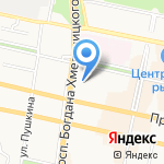Детский сад №6 комбинированного вида на карте Белгорода