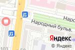 Схема проезда до компании Хлеб в Белгороде