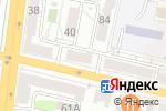 Схема проезда до компании Bel-design в Белгороде