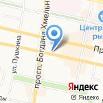 Руслана на карте Белгорода