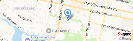 Персона на карте Белгорода