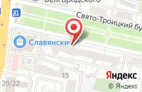 Схема проезда до компании Межтопэнергобанк в Белгороде