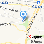 Аудит-Финанс на карте Белгорода