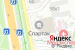 Схема проезда до компании Спартак в Белгороде