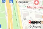 Схема проезда до компании Обувной дворик в Белгороде