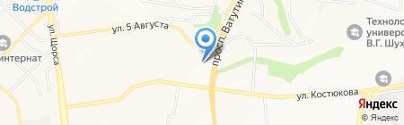 ЛАЙФ на карте Белгорода