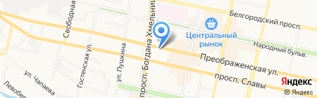 КБ Адмиралтейский на карте Белгорода