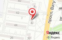 Схема проезда до компании Новый интерьер в Белгороде