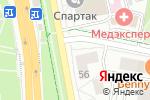 Схема проезда до компании Подкова в Белгороде